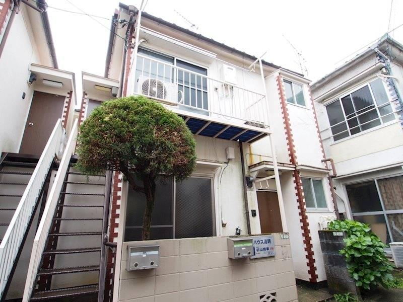 ハイツ成田II 1K/1階の外観