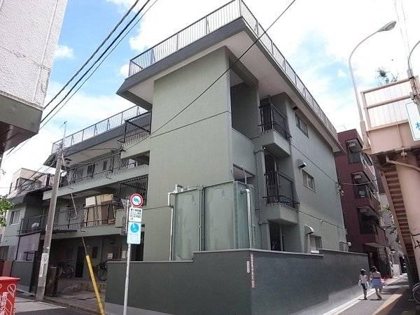 阿佐谷パールハイツ 2DK/3階の外観