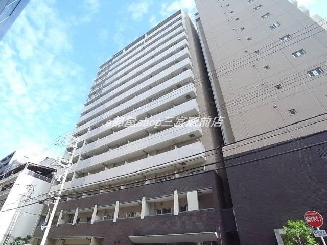 レジディア神戸磯上 1R/8階の外観 建物外観を気になさる方へ、見た目の良い物件です