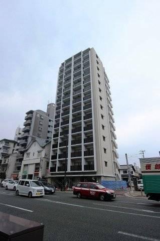 サヴォイ 箱崎セントリシティ 1K/4階の外観 外はこのようになっています