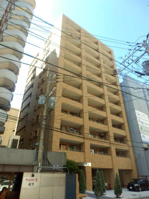 クリエート薬院 2LDK/3階の外観 外はこのようになっています