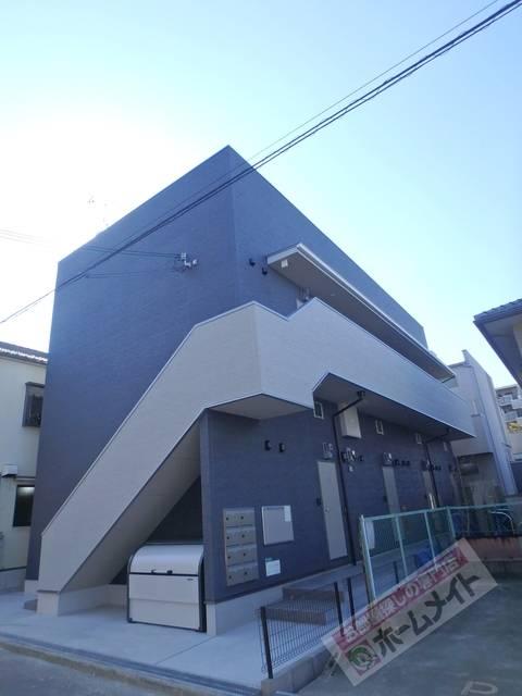 フォレストコート東今里 1K/1階の外観 同施工会社の同一仕様の写真です。