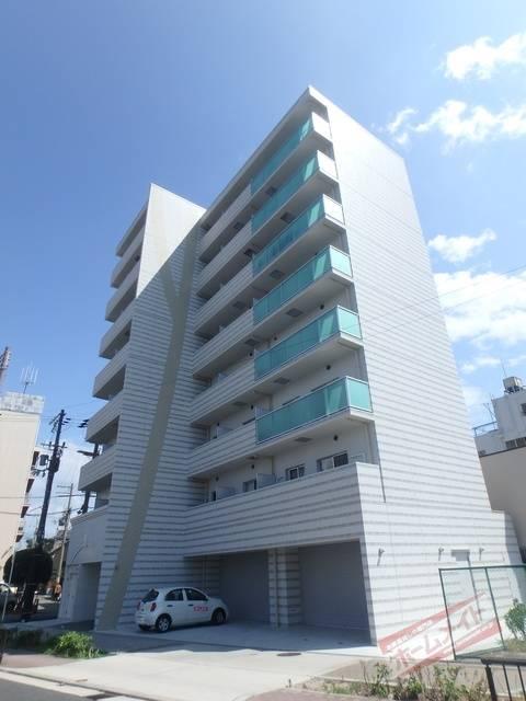 ブリリアントコート西田辺 1K/8階の外観
