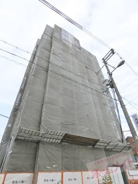 グランパシフィック松虫通 1K/8階の外観 建設中