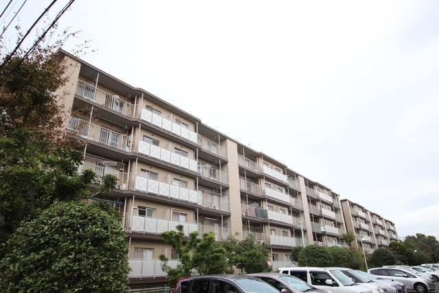 鎌ケ谷グリーンハイツ16号棟 2LDK/4階の外観