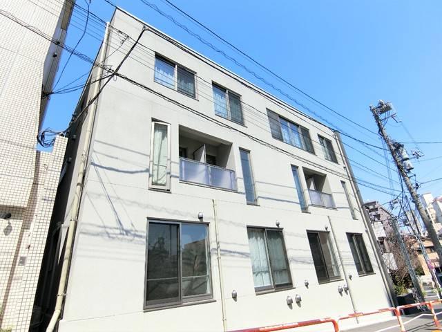 南北線駒込駅より徒歩1分 1LDK/B1階の外観