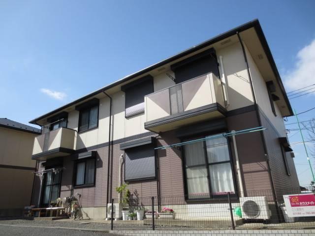 エトワールI 3DK/2階の外観 3沿線利用可・全戸角部屋・大和ハウス施工アパート