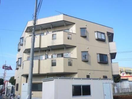 第2吉岡マンション 3DK/3階の外観 第2吉岡マンション