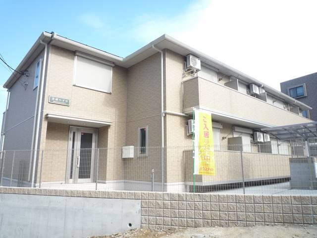 芙蓉ハイツ 1LDK/1階の外観 設備充実・大和ハウス施工築浅アパート