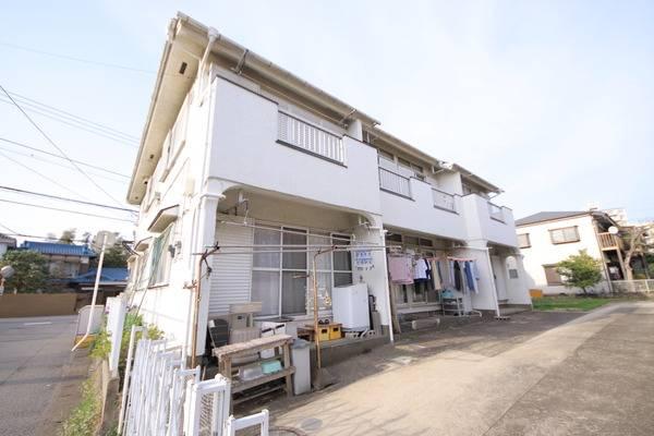 コーポ有田 2DK/2階の外観