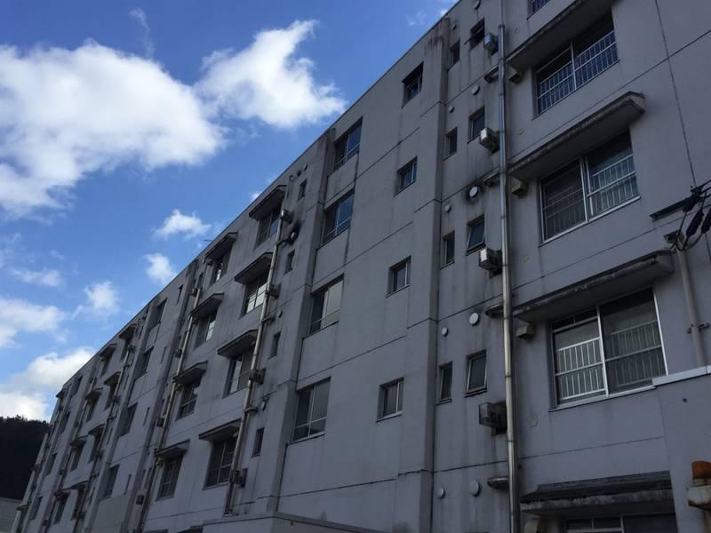 ビレッジハウス石生 3DK/5階の外観