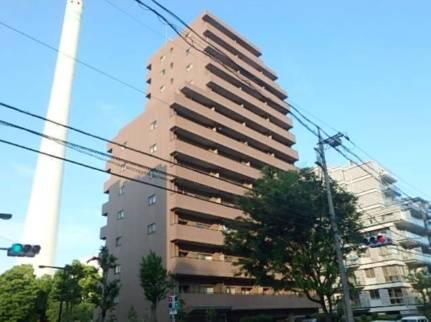 アレンダール目黒 2LDK/8階の外観