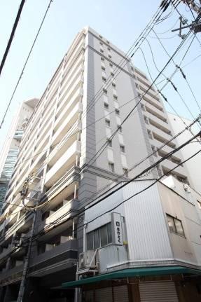 エスリード御堂筋梅田 1K/8階の外観