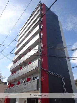 グランパシフィック松虫通 1K/5階の外観