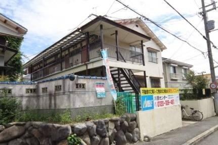 松ヶ丘ハイツ 2DK/1階の外観