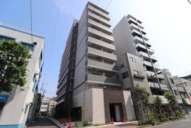 フュージョナル浅草FOREST 1K/3階の外観