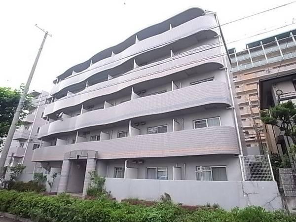 シャトラン弓木三番館 1K/4階の外観