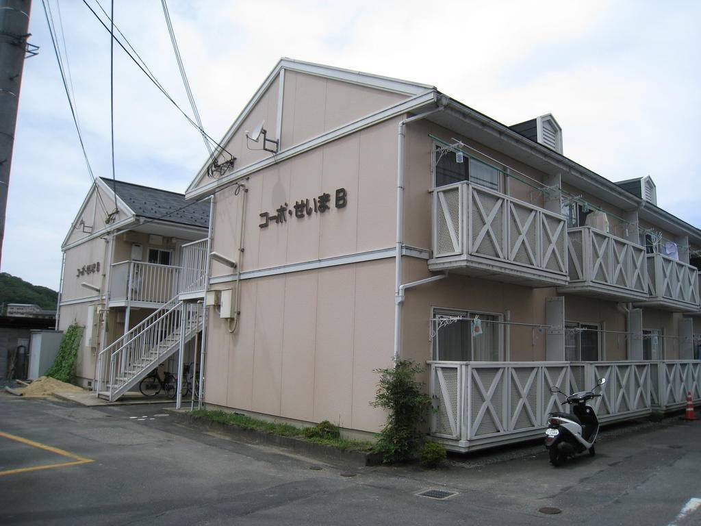 コーポSEIMA B号棟 1R/1階の外観