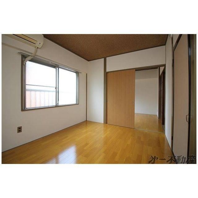 第1やまふじハイツ 2DK/2階の外観 洋室