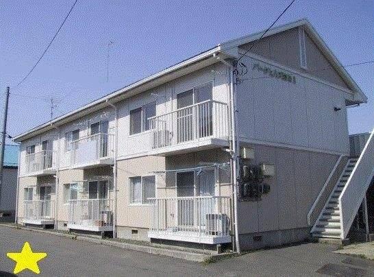 パークヒルズ岩崎3 2LDK/2階の外観 青森県八戸市鮫町字林通46