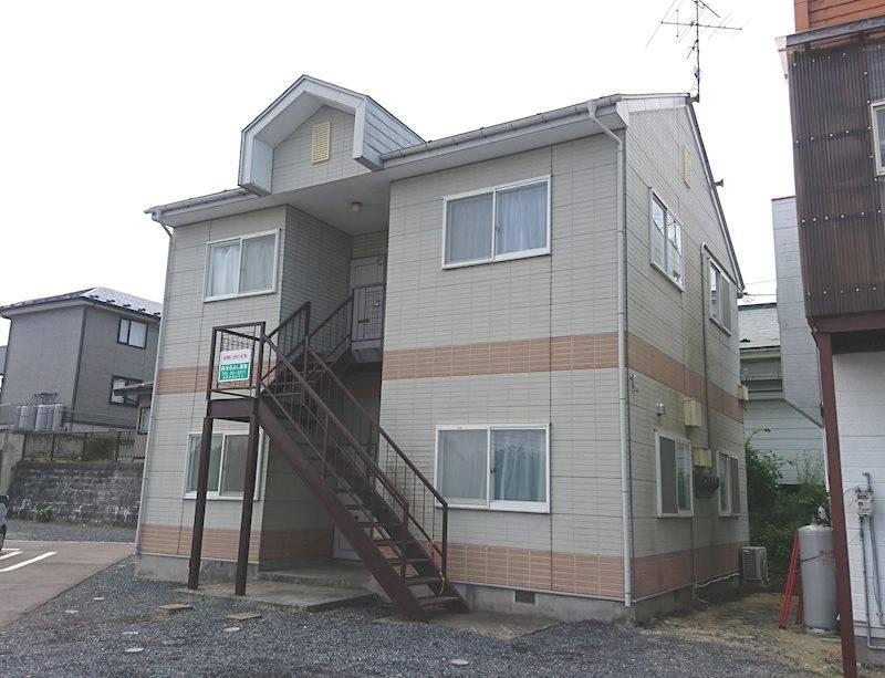 コーポクラウン 1LDK/1階の外観 青森県八戸市新井田字小久保尻24-1 外観