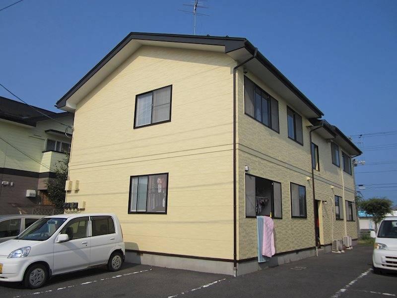 アーバネットパレス 2DK/1階の外観 青森県八戸市湊高台2丁目23-3