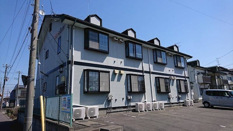 フラワーハイツ 1K/2階の外観 青森県八戸市湊高台7丁目24-1