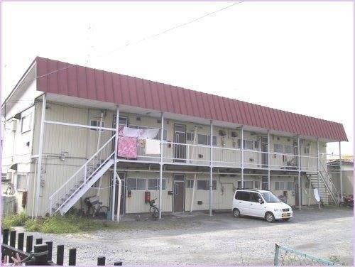 コーポ松野 2K/2階の外観 青森県八戸市白銀町字堀ノ内7 外観